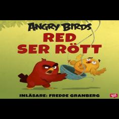 Angry Birds - Red ser rött