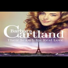 Their Search for Real Love (Barbara Cartland's Pink Collection 1